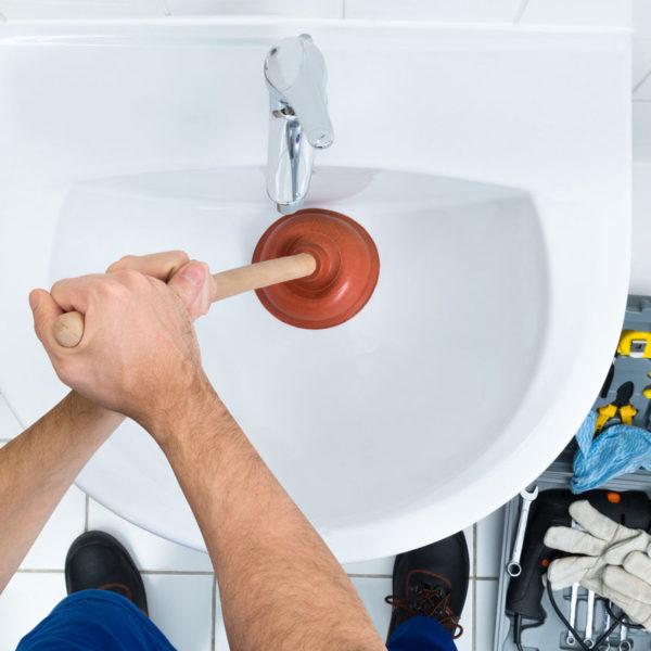 plumbing service repair sink